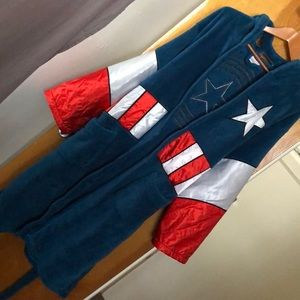 Mens Captain America Robe